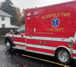 The Blissfield Township Fire Department received a grant of more than $21,000 from the Valero Energy Foundation. The grant will allow the department to purchase a LUCAS CPR device. (Photo/Blissfield Township Fire Dept. Facebook)