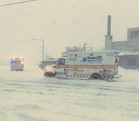 Mass. first responders kept busy during blizzard