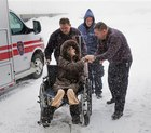 Warm EMS equipment for a warm patient