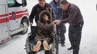 Medics beat blizzard to make transplant happen