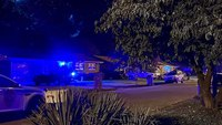 Ala. neighborhood lights up blue to support police