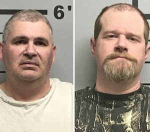 Charles Eugene Ferris, 50 (left),  Christopher Hicks, 36 (right)