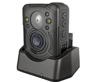 The high-definition IRIS CAM is equipped with a front mounted button for one-touch recording.