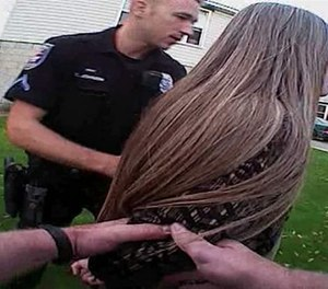 Post-hoc review of new officer (or cadet) behavior during recorded encounters provides immediate feedback, including both positive review and constructive criticism, and can help identify best practices in handling critical incidents. (Photo/Spokane Police Department)