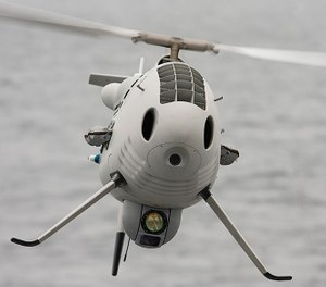 Being able to utilize the S-100 unmanned system when the weather poses a risk to manned aviation members will significantly reduce the danger to people, whether they're in the air or on the ground. (Image courtesy of Boeing)