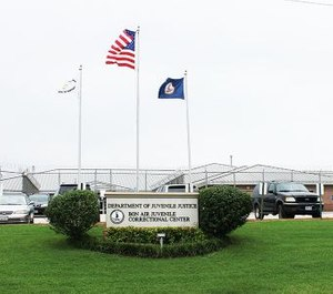 Outside the Bon Air Juvenile Correctional Center in Chesterfield County, Virginia. (Photo/Bon Air Juvenile Correctional Center)