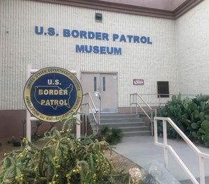 The entrance of the U.S. Border Patrol Museum in El Paso, Texas