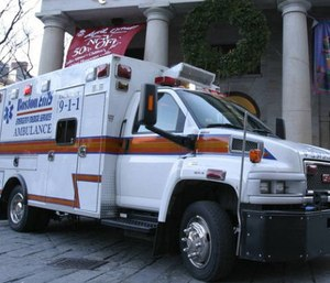 A security expert said that although Boston EMS said they have shooting response procedures, it may not be enough to treat multiple victims during a mass casualty incident. (Photo/Boston EMS)