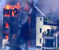 5 Boston firefighters injured at 6-alarm blaze