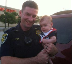 Pictured is Officer Bradley Fox.
