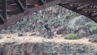 Medic describes intense high angle rescue from Idaho bridge