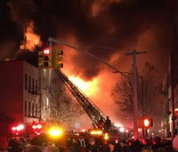 Massive Brooklyn fire injures 11, displaces dozens