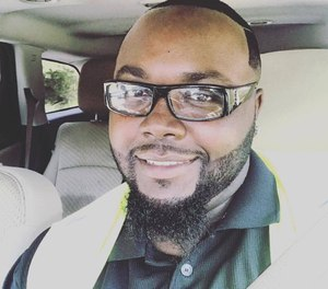 Deputy Makeem Brooks died in a vehicle accident responding to a call on Wednesday night. (Photo/Greater Love Christian Community Church)