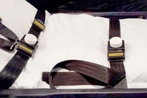 Buckle Guard on a stretcher