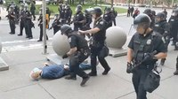 Grand jury declines to indict NY police officers seen pushing elderly protester