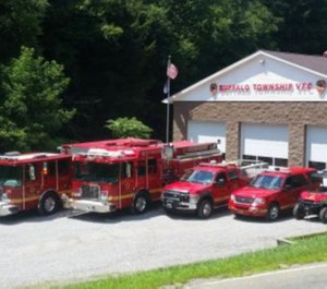 Buffalo Townsip Volunteer Fire Department was awarded $13,987 in state grants. (Photo/Buffalo Township Volunteer FD)