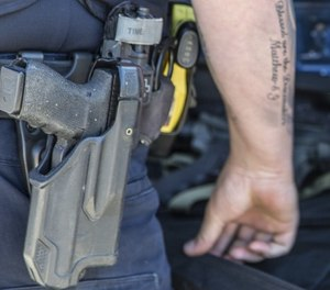 Aside from simple mechanical failure or damage due to enemy fire, there are a ton of additional ways your duty gun could become unusable in a fight. (Photo/PoliceOne)