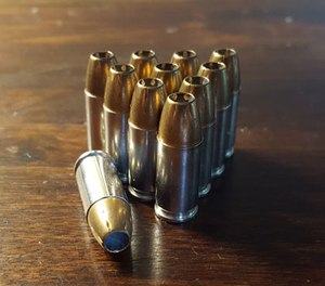 One of the biggest differences is that 9mm ammunition is generally cheaper because of the disparity in the cost of materials. (Photo/PoliceOne)