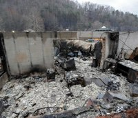 Tenn. county officials admit wildfire text alert never sent