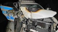Good Samaritans pull Calif. officer from burning car after pursuit