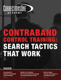 Contraband control training: Search tactics that work (eBook)