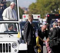 Security for pope questioned after parade incident