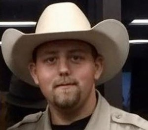 Deputy Chris Dickerson had been with the sheriff's department for eight years. He was married with two young children. (Photo/ODMP)