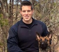 Suspect in Mass. officer's killing held without bail