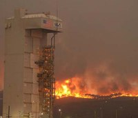 2nd wildfire breaks out on Calif. military base