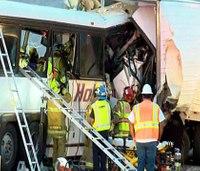 NTSB to probe Calif. bus crash that left 13 dead, 31 hurt