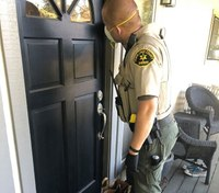 Calif. deputies shop for elderly man who didn't want to leave his home due to COVID-19