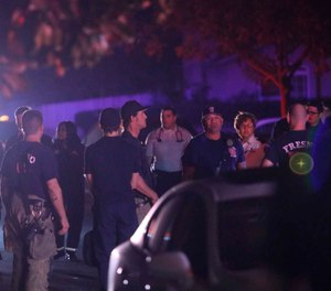Ten people were shot and 4 were killed Nov. 17 at a party in Fresno when suspects broke into the backyard and fired into the crowd, police said.