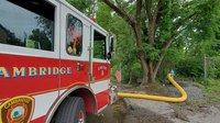 12 Mass. firefighters hospitalized with chemical burns