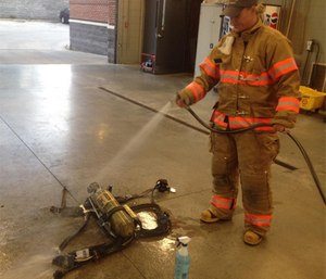 Firefighters must be taught to be diligent about cleaning their gear, each and every time they're called to a fire.