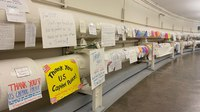 Tributes, thank-you notes for Capitol Police pour in