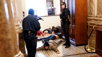 Capitol police chief defends officers' response to violent protest
