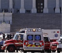 DC Fire, EMS respond to Capitol Building shooter