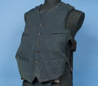 Al Capone's bullet-resistant vest featured in LEO museum