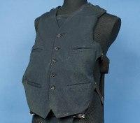 Al Capone's bullet-resistant vest featured in LEO museum