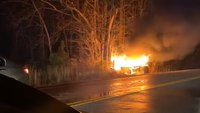 Good Samaritans save NC deputy after fiery crash, rescuer says