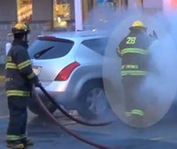Training forum: How to attack a car fire