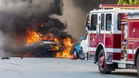 NTSB: U.S. fire service not prepared to fight electric vehicle fires