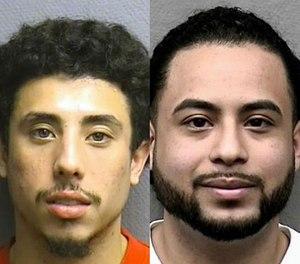 Jesse Irvin Zelaya (left) and Michael Armando Arce. (Houston Police Department via AP)