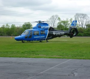 Premier Health CareFlight has launched a new app that allows first responders to send the GPS location of an emergency and then easily track a flight using a mobile device. (Photo/Franklin Township, Warren County, Ohio Facebook)