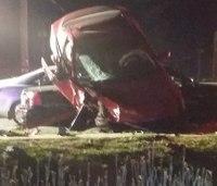 Ind. fire marshal injured in 3-car crash
