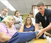 School casualty kits might expand nationwide