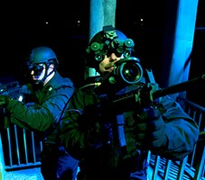 Regardless of whether an officer in a SWAT, investigations, or patrol role, there are incredible rewards to seeing in the dark. (image/Steiner Optics)