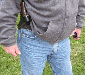 Remember that a firearm carried on your waist will allow you to employ the muscle memory and reflexes for drawing and weapon retention that you've been practicing for years.