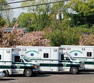 Cedar Grove Ambulance & Rescue Squad said in a statement on Facebook that it would be suspending service for the first time in its 84-year history.