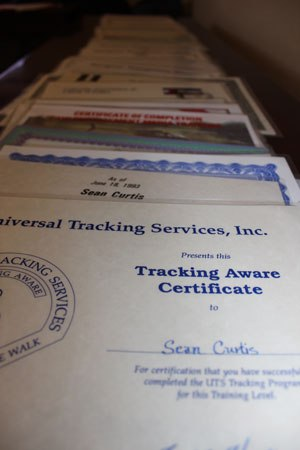 Treat these certificates like 8.5 x 11 sheets of gold, because that is what they are. (PoliceOne Image)